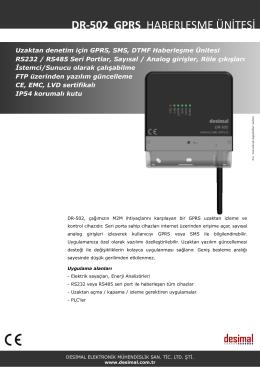 Broşür - Desimal Elektronik