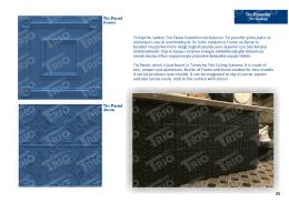 Tin Panel - Trio Tavan Sistemleri
