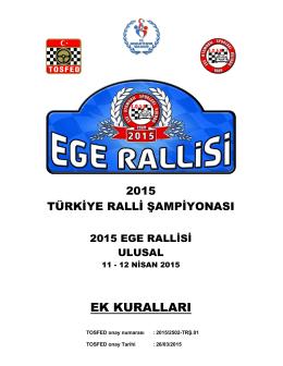 1. program - Ege Otomobil Sporları Kulübü