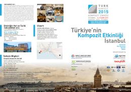 8-9-10 Ekim 2015 - Turk Kompozit 2015