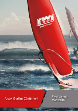 Himel Mart 2015 Fiyat Listesi