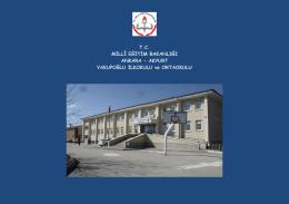 okulumuzu tanımak ister misiniz - Yakupoğlu Ortaokulu