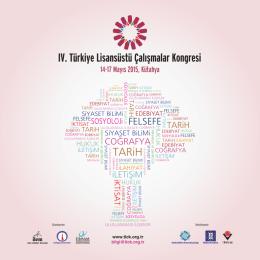 IV. TLÇK Program - Türkiye Lisansüstü Çalışmalar Kongresi