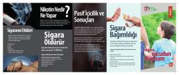 tütün bağımlılığı broşür