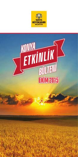 EKİM 2015 - Medeniyet Okulu
