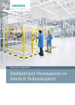 Siemens Endüstriyel Otomasyon ve Sürücü Teknolojileri Fiyat Listesi