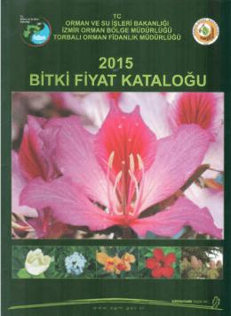 torbalıfid fiyat listesi - İzmir Orman Bölge Müdürlüğü
