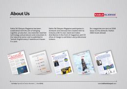 Media Kit İngilizce