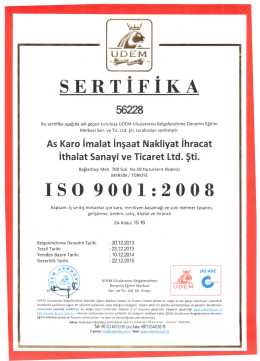 ıso 9001:2008