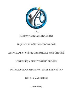 okudukça büy - Atatürk Ortaokulu