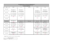 FTR Bölümü 2015-2016 Güz Dönemi 4