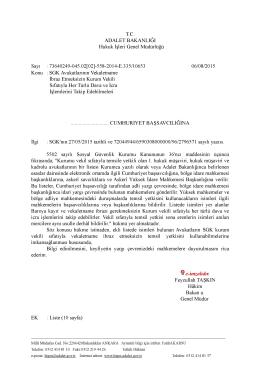 SGK Avukatlarının Vekaletname İbraz Etmeksizin Kurum Vekili