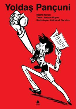 """""""Yoldaş Pançuni"""", Kitap Afişi, 100x70 cm, 2009"""