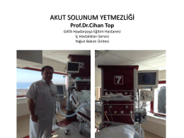 Prof. Dr. Cihan Top
