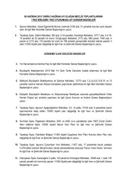 09.06.2015 - Eskişehir Büyükşehir Belediyesi