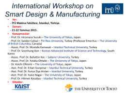International Workshop on Smart Design & Manufacturing