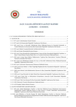 24-25. yasama dönemi faaliyet raporu