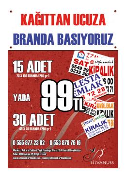 Sipariş Telefon Numaraları: 0555 977 23 02