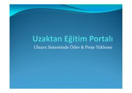 Burç Üniversitesi Ulearn - ULEARN