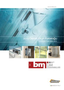 2015 Genel Ürün Kataloğu