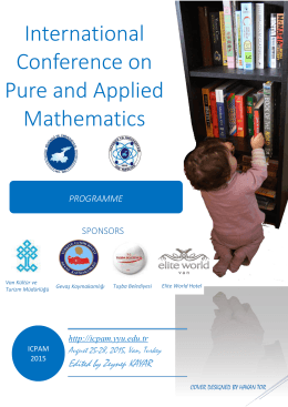 International Conference on Pure and Applied