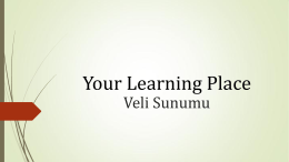 Your Learning Place