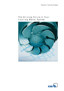The Driving Force in Your Cooling Water System