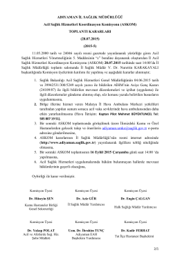 TOPLANTI KARARLARI (28.07.2015) (201