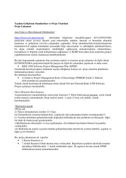 Proje Önerisi - zeynepaltan.info