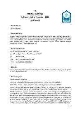 Katılım Formu (TR)