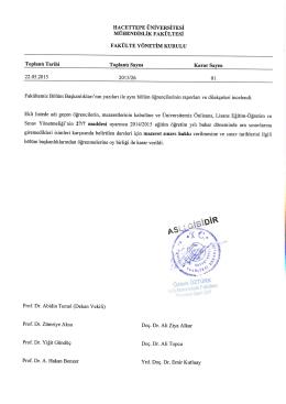 Untitled - Hacettepe Üniversitesi Matematik Bölümü