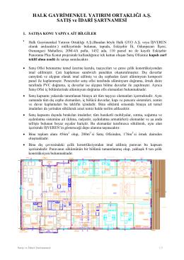 Eskişehir Panorama Plus Projesi Hurda Satış İhalesi İNDİR