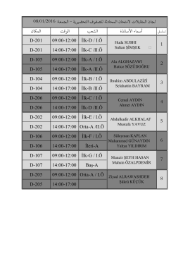 Kopya لجان امتحان المحادثة 08-01-2016
