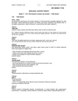 IEC 60364-7-710