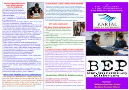 BEP - KARTAL - Kartal Rehberlik ve Araştırma Merkezi