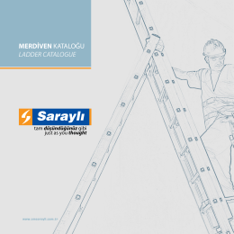 MERDİVEN KATALOĞU LADDER CATALOGUE