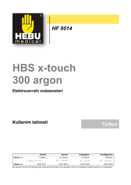 HBS x-touch 300 argon