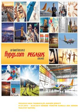 2015 3.Çeyrek Faaliyet Raporu - Pegasus Yatırımcı İlişkileri