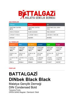 BATTALGAZİ DINbek Black Black