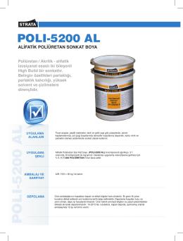 POLI-5200 AL