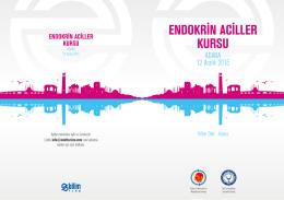Davetiye adana - Türkiye Endokrinoloji Metabolizma Derneği