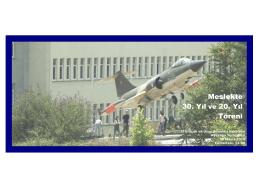 Davetiye_2015 - Uçak ve Uzay Bilimleri Fakültesi