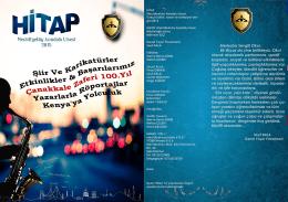 Okul Dergimiz-2015 - İSTANBUL - ŞİŞLİ