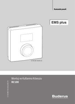 EMS plus - Teknik dokümantasyon