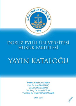 Untitled - Dokuz Eylül Üniversitesi