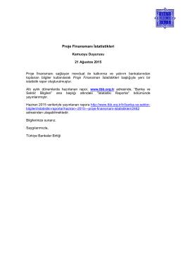 14 Ağustos 2008 - Türkiye Bankalar Birliği