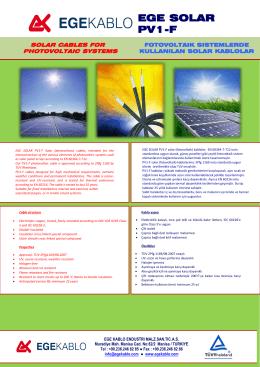 EGE SOLAR PV1-F - Solar