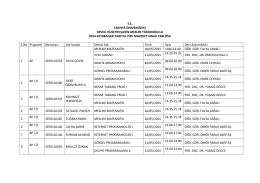 2014-2015 bahar yarıyılı vize mazeret sınavları