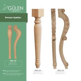 Dresuar Ayakları - Gülen Orman Ürünleri