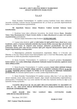 kamu konutları ilanı